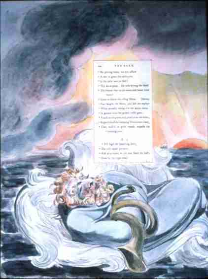 William Blake - Illustrations to Gray #60